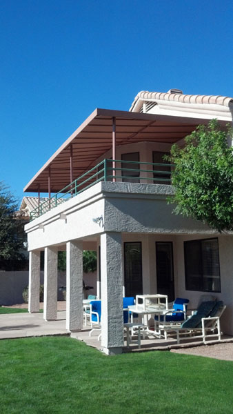 Phoenix custom name brand awning shade structure gallery ...